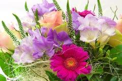 Kolorowy kwiatu bukiet. Zdjęcia Royalty Free