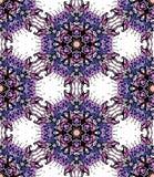 Kolorowy kwiatu kalejdoskop Obraz Stock