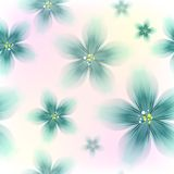 Kolorowy Kwiecisty Bezszwowy wzór Zdjęcie Stock