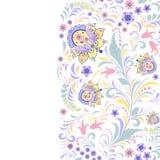 Kolorowy kwiecisty wzór Fotografia Stock