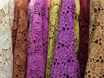 Kolorowy lacework zdjęcie royalty free