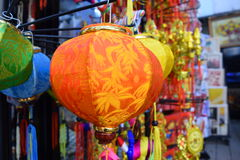 Kolorowy lampion dla Wietnam Tet wakacje Obraz Royalty Free