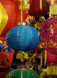 Kolorowy lampion, w połowie jesień festiwal Obrazy Royalty Free