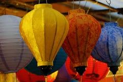 Kolorowy lampion, w połowie jesień festiwal Zdjęcie Royalty Free