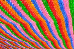 Kolorowy lampionu tło przy buddyjską świątynią Seul Zdjęcie Royalty Free
