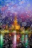 Kolorowy lekki bokeh blured Zdjęcie Royalty Free
