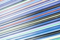 Kolorowy linii abstrakcjonistycznej sztuki tło Fotografia Royalty Free