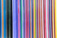Kolorowy linii abstrakcjonistycznej sztuki tło Zdjęcia Royalty Free