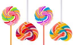 Kolorowy lizak Zdjęcie Royalty Free