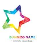 kolorowy logo Zdjęcia Stock