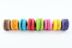 Kolorowy macaroon Zdjęcia Royalty Free