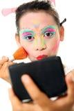 kolorowy makeup Fotografia Royalty Free