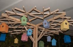 Kolorowy malutki domu model Obrazy Royalty Free