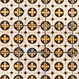 Kolorowy marokańczyk, portugalczyk płytki, Azulejo, ornamenty Może być obraz royalty free
