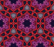 Kolorowy marokański ornament w wektorze royalty ilustracja