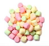 Kolorowy marshmallow Zdjęcia Stock
