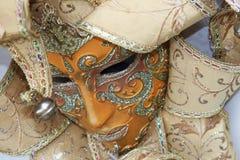 kolorowy maskowy tradycyjny Venice Zdjęcie Stock