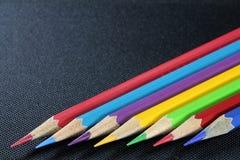 Kolorowy materiały Dla rysować i malować obrazy stock