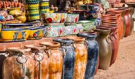 Kolorowy Meksykański garncarstwo Zdjęcia Stock