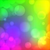 Kolorowy miękki rozmyty tło ilustracji
