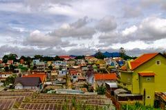 Kolorowy miasteczko Dalat Obrazy Stock