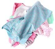 Kolorowy mieszany oile ubrania odizolowywający Zdjęcie Stock