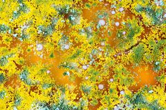 Kolorowy mikrobiologiczny tło Obrazy Stock