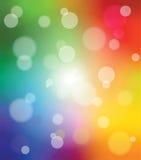 Kolorowy mobilny tło ilustracji
