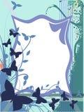 Kolorowy motyla tło Obraz Royalty Free