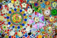Kolorowy mozaika wzoru tło Zdjęcia Stock