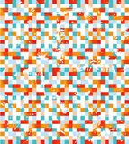 Kolorowy mozaiki tło Obraz Royalty Free