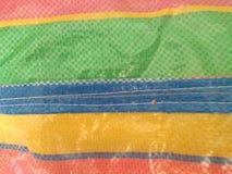 Kolorowy na torbie zdjęcie royalty free
