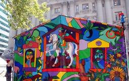 kolorowy namiot Obrazy Stock