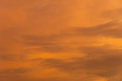 kolorowy niebo Obraz Royalty Free