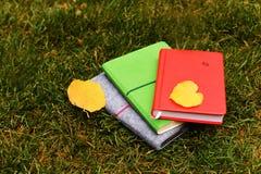 kolorowy notatnik Obrazy Stock
