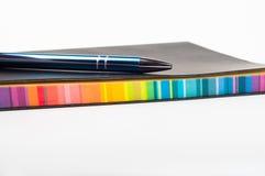 kolorowy notatnik Zdjęcia Stock