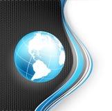 Kolorowy nowożytny wektorowy szablon Zdjęcie Royalty Free