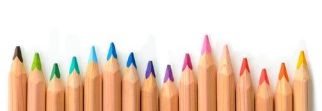 kolorowy ołówek Zdjęcia Royalty Free