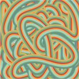 Kolorowy obdzierający wyginający się tło Ilustracja Wektor