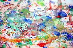 Kolorowy obraz bryzga, kolorowy żywy pastelowy tło, abstrakcjonistyczna kolorowa tekstura Obrazy Stock