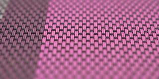 Kolorowy obrus z stały bywalec wzorem obraz stock