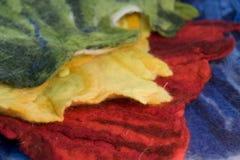 Kolorowy odczuwany Fotografia Stock