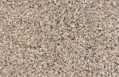 Kolorowy odsłonięty agregata beton zdjęcie stock