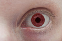 Kolorowy oka zakończenie up Zdjęcia Royalty Free