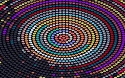 Kolorowy okrąg ilustracji