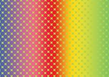Kolorowy okręgu kształt ilustracji