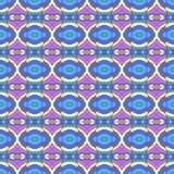 Kolorowy orientalny wzór, bezszwowa tapeta Obrazy Royalty Free