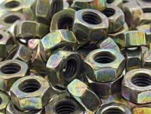kolorowy orzechy screw Zdjęcie Royalty Free