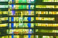 kolorowy ot wzoru działanie Fotografia Stock