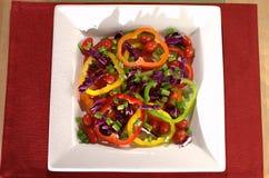 kolorowy półkowy warzywo Zdjęcie Stock